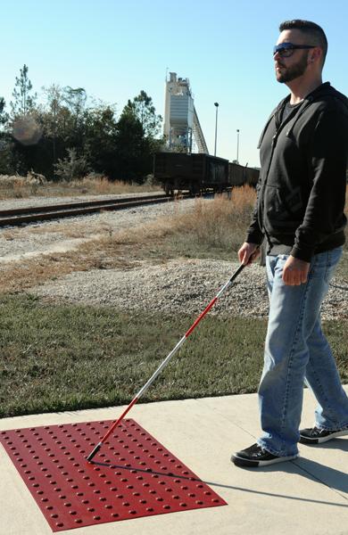 ADA Compliant Detectable Warning Tiles