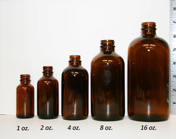 bottle size comparison in ounces