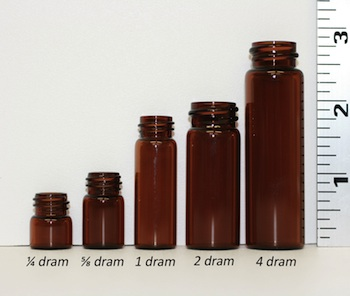 bottle size comparison in drams