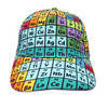 Periodic Table of elements baseball cap - front view