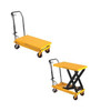 1000 Lb Capacity Fixed Handle Scissors Lift Table With Foot Operated Pump