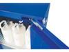 Justrite EX Compac HazMat Safety Cabinet, 12 Gal, Self-close Door
