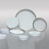 53-400 White Metal Cap, Pulp Polyethylene Lined