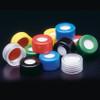 Pre-assembled Hole Caps, PTFE/Silicone Septa, 9mm, case/1000
