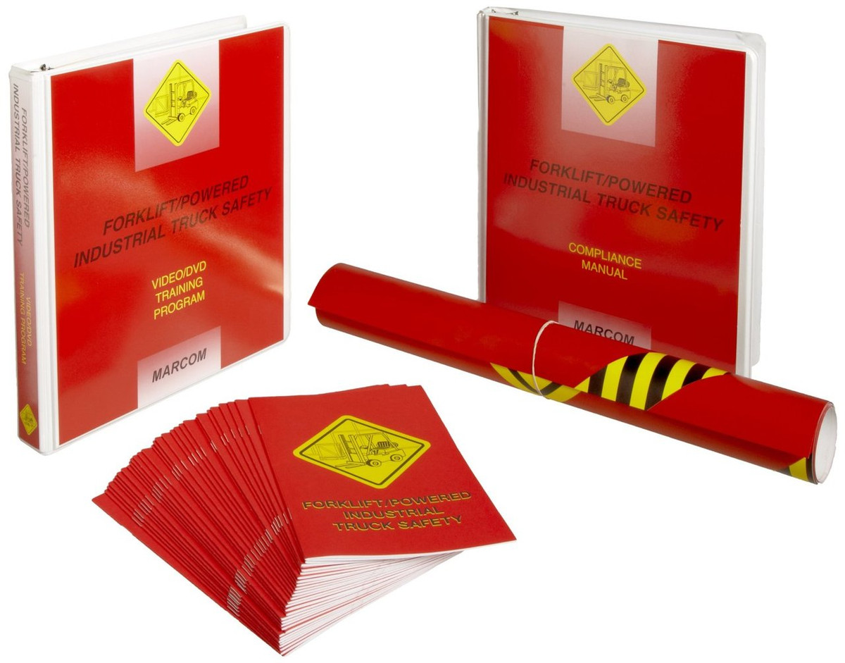 Safety Training: Forklift/Powered Industrial Truck Safety Compliance Kit