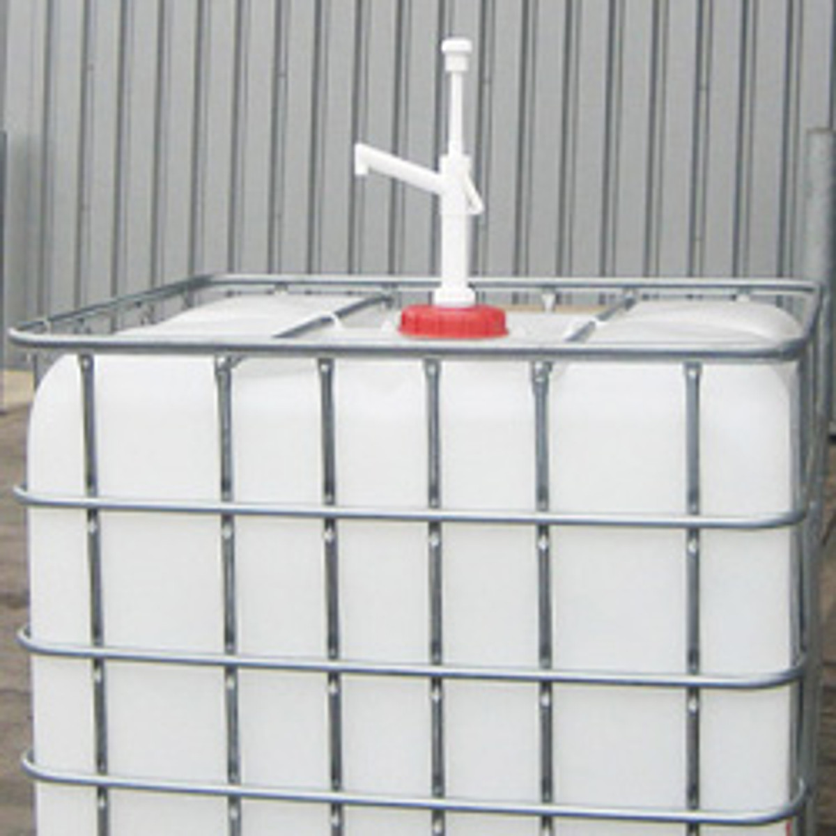 IBC Tote Drum Pump, Polypropylene, 26oz/stroke
