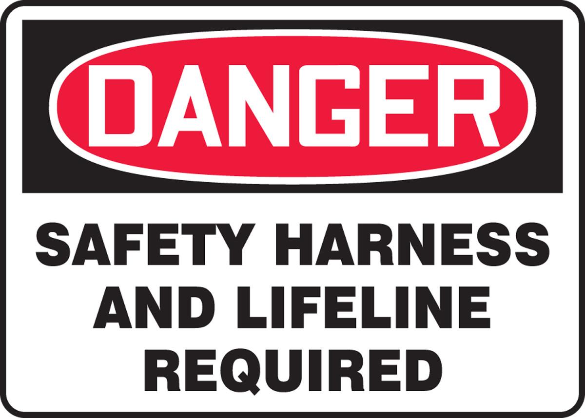 Danger Toxic Chemicals Osha Metal Aluminum Sign
