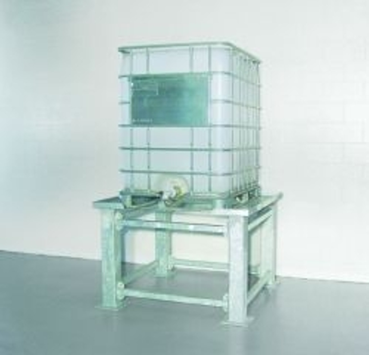 1-Tote IBC Containment Stand, Steel