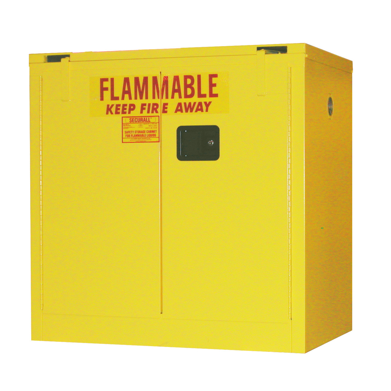 Flammable Storage Cabinet 30 Gal Self Close Self Close Safe T Door
