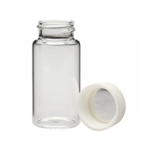 WHEATON® 20mL LS Scintillation Vials, 22-400 Foil Lined PP Caps, case/500