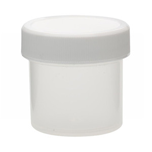 WHEATON® 30mL PP Jars, Unlined Caps, case/72