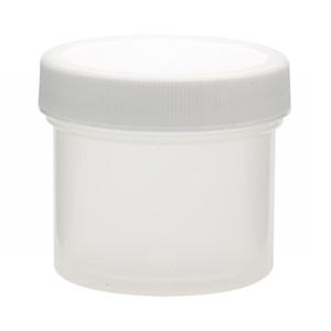 WHEATON® 60mL PP Jars, Unlined Caps, case/48