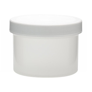 WHEATON® 250mL PP Jars, Unlined Caps, case/36