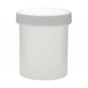 WHEATON® 125mL PP Jar, Polyethylene Foam Lined Cap, case/36