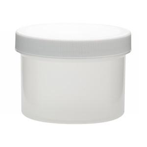 WHEATON® 250mL PP Jars, Foam Lined Polyethylene Caps, case/36