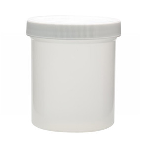 WHEATON® 500mL PP Jars, Foam Lined Polyethylene Caps, case/24