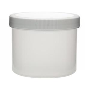 WHEATON® 1000mL PP Jar, Polyethylene Foam Lined Cap, case/24