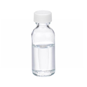 WHEATON® 1 oz Glass Bottles, Clear, PTFE Lined PP Caps, case/48