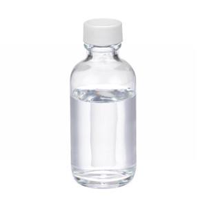 WHEATON(R) 2 oz Glass Boston Round Bottles, PTFE Lined PP Caps, case/24