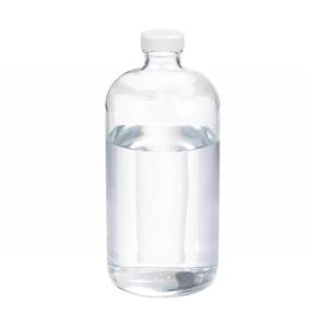 WHEATON(R) 32 oz Glass Boston Round Bottles, PTFE Lined PP Caps, case/12