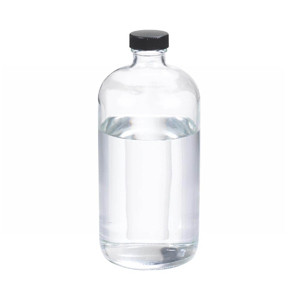 WHEATON® 32 oz Glass Boston Round Bottles, Rubber Lined Caps, case/12