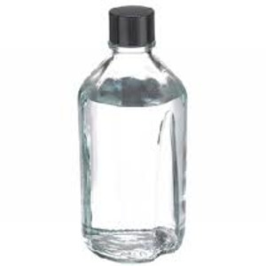 WHEATON® 1000mL Media Bottles, Borosilicate Glass, 38-400 Cap with Poly Lined Caps, case/12