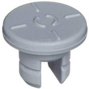 WHEATON® 13mm Stopper for Lyophilization, 2 Leg (7X13) Butyl Gray, case/1000