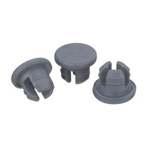 WHEATON® 20mm Stopper, 3 Leg, Ultra Pure, case/1000