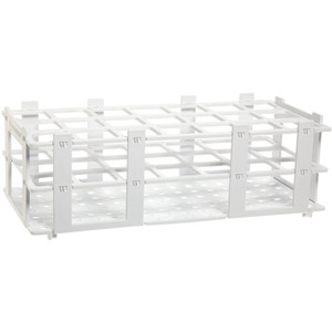 Test Tube Rack, Holds 21 Tubes, 30mm, pack of 5