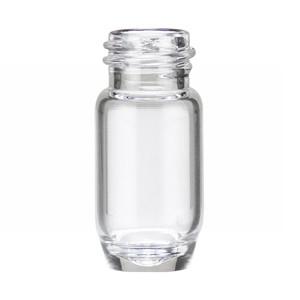 WHEATON® 2mL Clear Glass E-Z Extraction Vials, No Caps, case/250