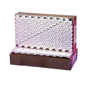 WHEATON® 20mL Amber Vials, Lab File, PTFE Lined Caps, case/72