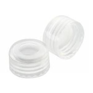 WHEATON® ABC 9mm Open Top Screw Caps, .010, PTFE Liner, case/1000