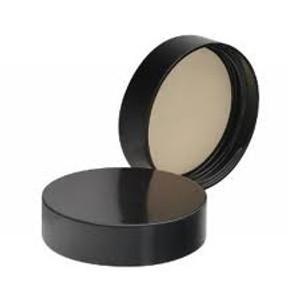 WHEATON® 43-400 Black Phenolic Caps, 14B Rubber Liner, case/72