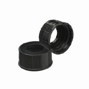 WHEATON® 33-430 Black Phenolic Caps, No Liner, case/200