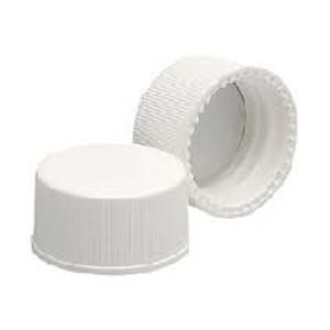 WHEATON® 15-425 PP Cap, White, PTFE/Silicone Liner .060, case/1000