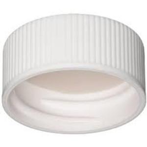 WHEATON® 22-400 PP Caps, White, PTFE/Silicone Liner, case/100