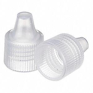 WHEATON(R) 15-415 Caps for Dropper Bottles, PP, case/1000