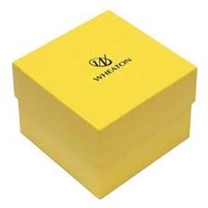 WHEATON® Cryogenic Cryofile XL Freezer Box, Yellow, case/15