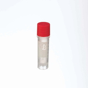 WHEATON® 2mL Ext FS CryoElite Vials with Marking Spot, Red Caps, Sterile, case/500