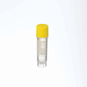 WHEATON® 2mL Ext FS CryoElite Vials with Marking Spot, Yellow Caps, Sterile, case/500