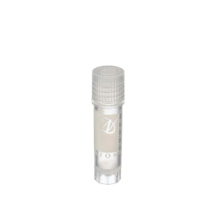 WHEATON® 2mL Ext FS CryoElite Vials with Marking Spot, Natural Caps, Sterile, case/100