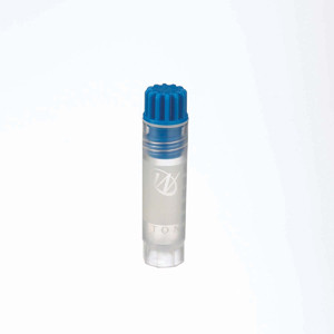 WHEATON® 2mL Internal Thread CryoElite Vials, Blue, Natural Caps, Label, sterile, case/500