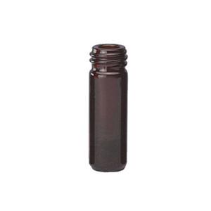 WHEATON® 1mL Amber Borosilicate Glass V-Vials, 13-425, No Caps, case/12