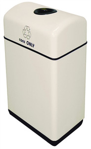 Food Court Recycle Bin for Cans only, 12 gal Custom Fiberglass