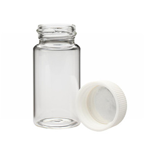 WHEATON® 20mL LS Scintillation Vials, 24-400 Foil Lined PP Caps, case/500