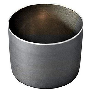 Heavy-Duty Steel Crucible, Low-Form, Rounded Pattern, 100mL