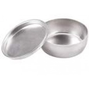 Aluminum Sample & Weighing Dishes, pack/12