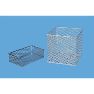 "Stainless Steel Cleansing & Storage Basket, 6"" x 6"" x 6"""