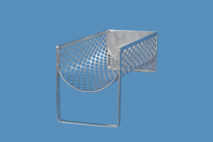 "Pipet Cleansing Rack & Angled Support Stand, 4.75"" x 13.25"""