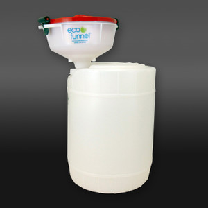 "8"" ECO Funnel® System, 5 gal Drum, 70mm (FS-70)"